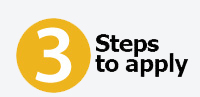3 Steps to apply
